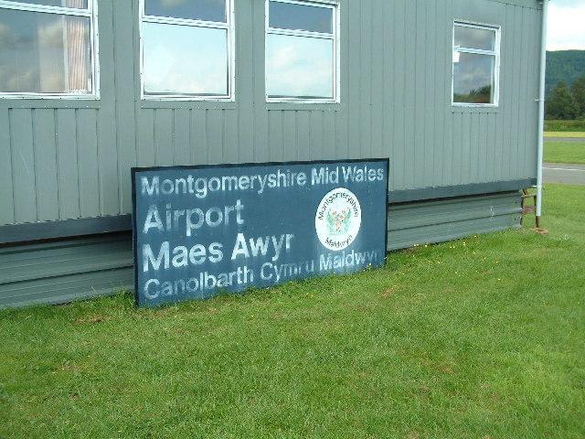 Aerodrome office signboard