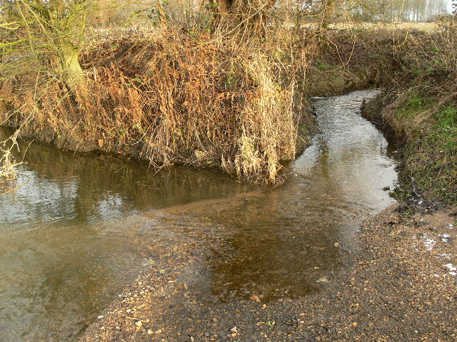 Haseley Brook meets River Thame