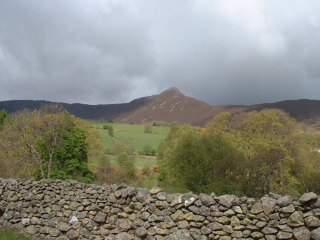 Causey Pike from Little Town