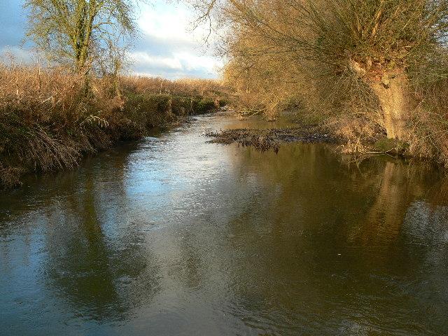 The River Thame near Stadhampton