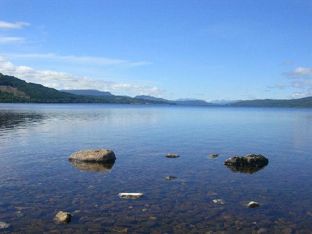 Loch Rannoch from Kinloch Rannoch