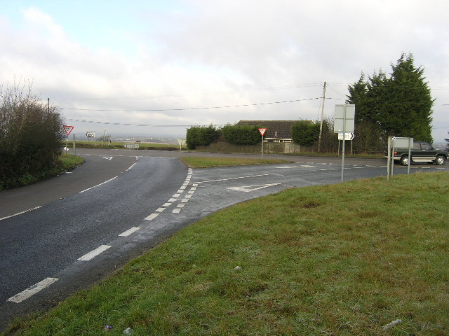 B4465 Westerleigh Hill Junction, South Gloucestershire