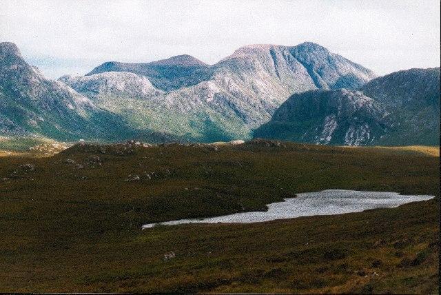 Loch an Doire Crionaich, Letterewe