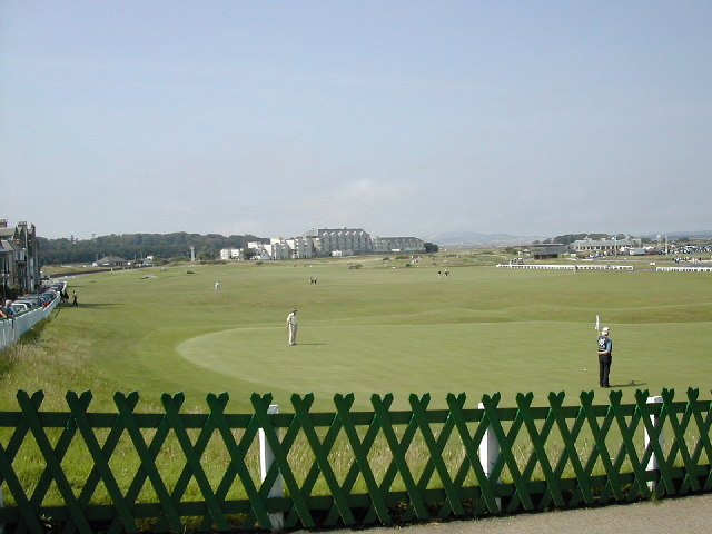 The 18th Green at St. Andrews