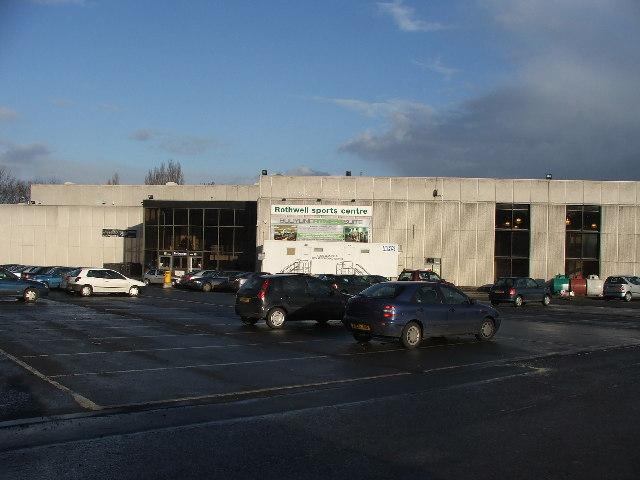 Rothwell Sports Centre.
