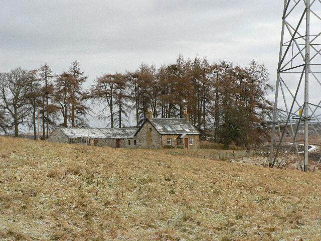 Cottage and farm buildings near Craigend