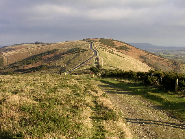 Povington Hill from Whiteway Hill, Isle of Purbeck