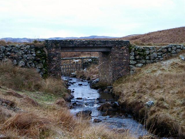 Bridge over Baden Burn