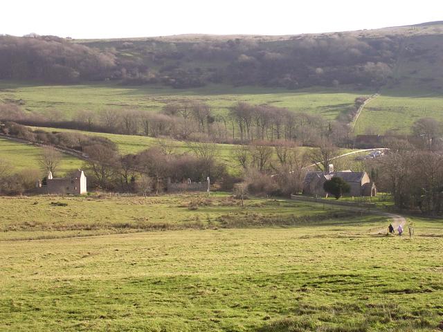 Tyneham village, Isle of Purbeck