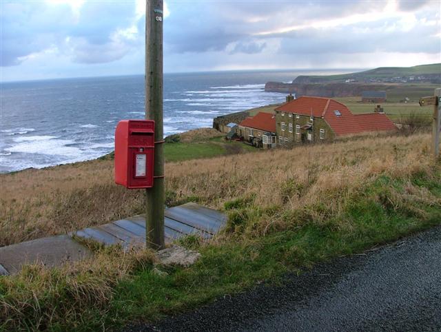 Post Box, Boulby