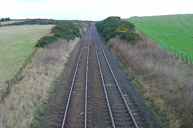 Railway Line north of Newtonhill