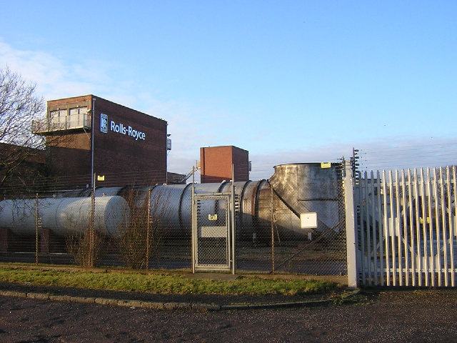 Rolls Royce Engine Testing Facility, Cathkin Braes