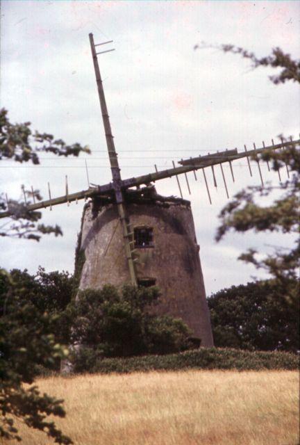 Llynnon Mill pre restoration 1976