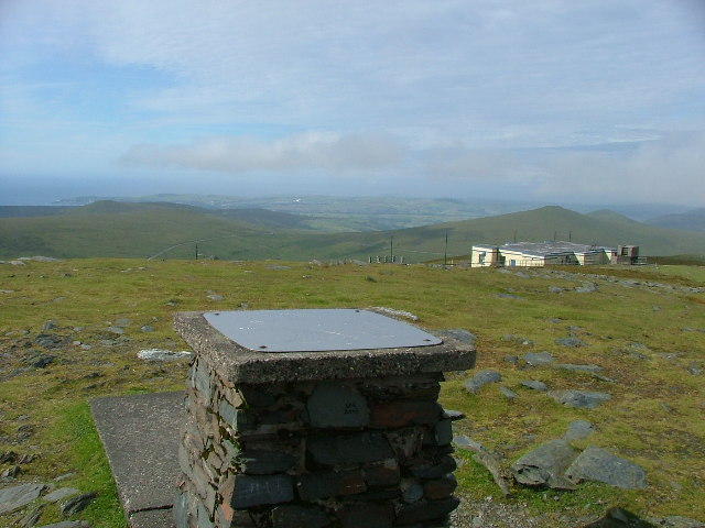 The Summit of Snaefell looking south