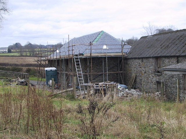 Barns being converted to houses