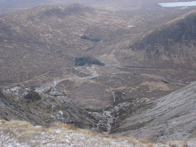 Looking into Coire na Tulaich