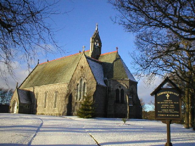 Craigiebuckler Church in Winter