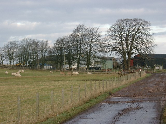 Farm Buildings at High Blackwood Yards