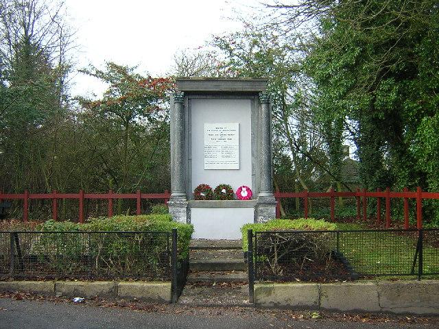 Auchentibber War Memorial