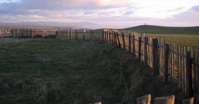 Enclosure on St Bees Head.