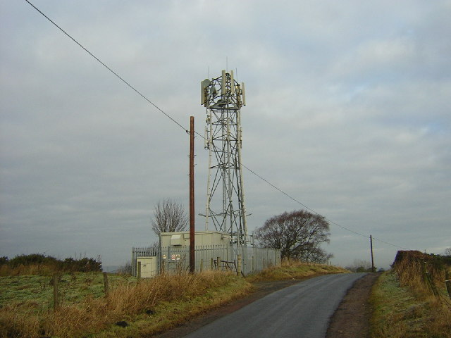 Transmitter Tower Beside Calderside Road