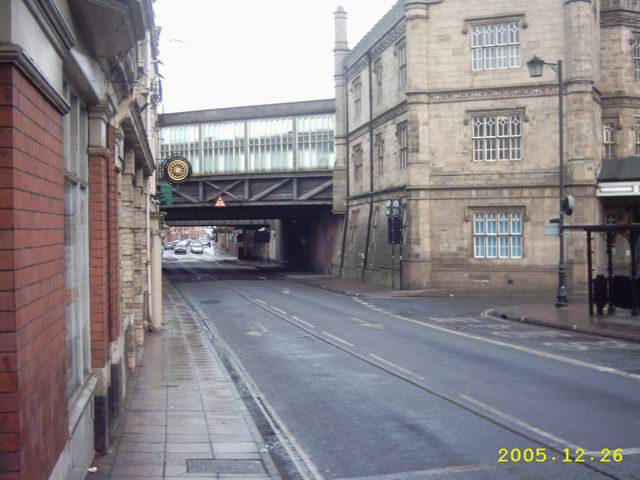 Shrewsbury Station Rail Bridge