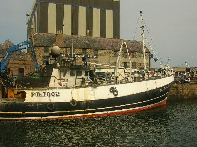 Boat at Peterhead Harbour