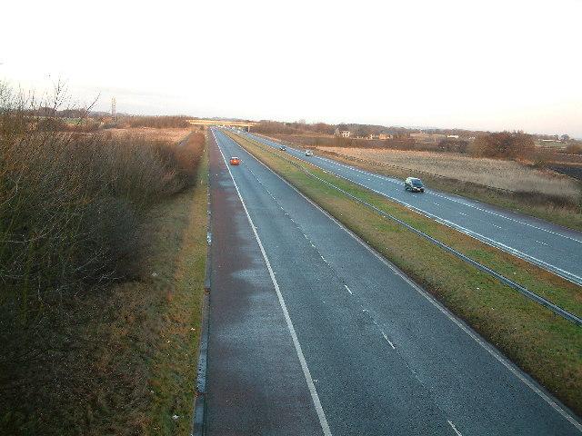 M58 Motorway  (the quiet one)
