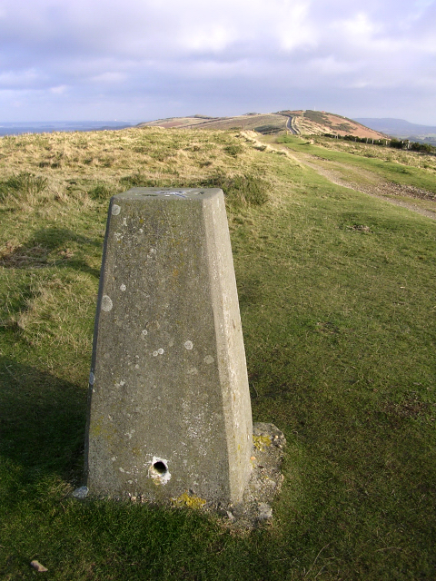 Trig point on Whiteway Hill, Isle of Purbeck