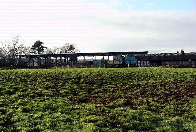 Farm buildings, Castle Mains