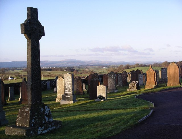 Dryfesdale cemetery & garden of remembrance, Lockerbie