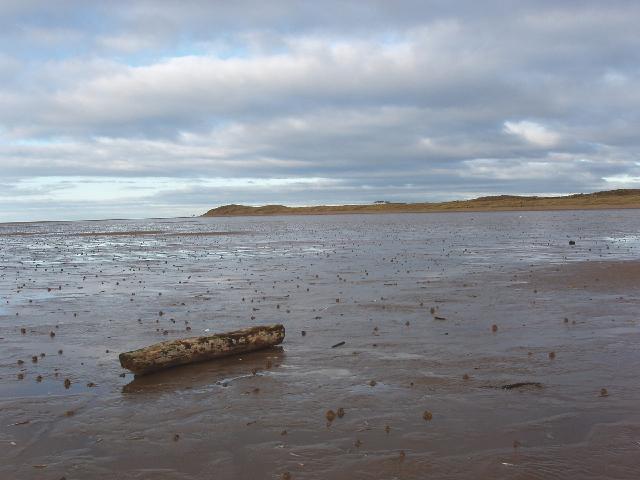 Sand banks at Formby