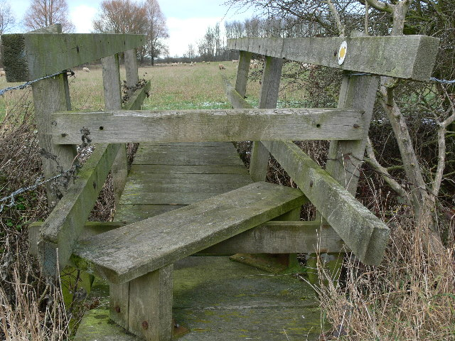 Footbridge - Haseley Brook
