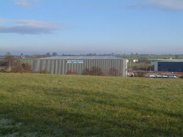 New industrial units, Beaconside