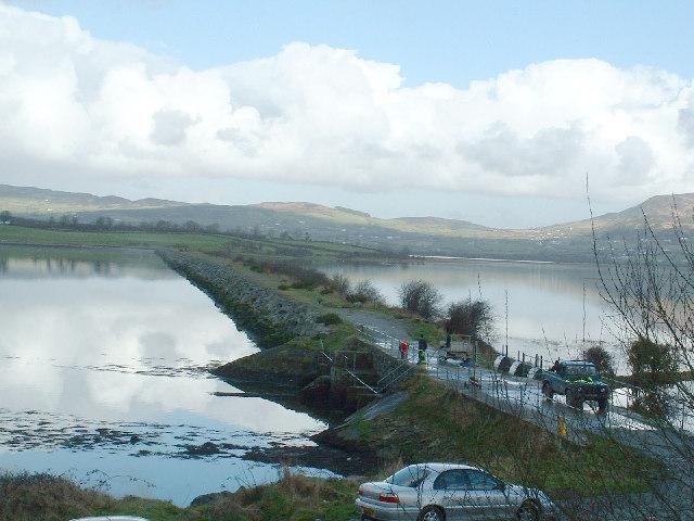 Causeway over to Inch Island, Inishowen