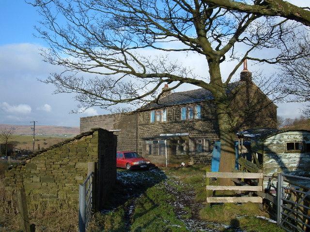 Farmhouse at Brearley, near Littleborough