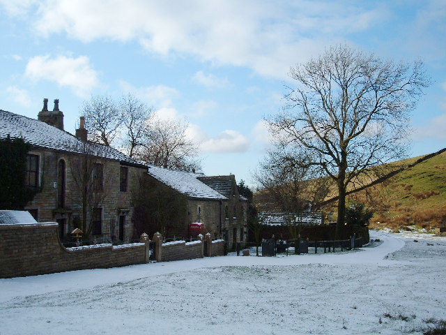 Syke Farm (aka Syke House), near Littleborough