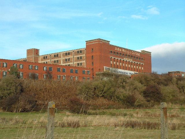 Former headquarters of John Haig & Sons whisky