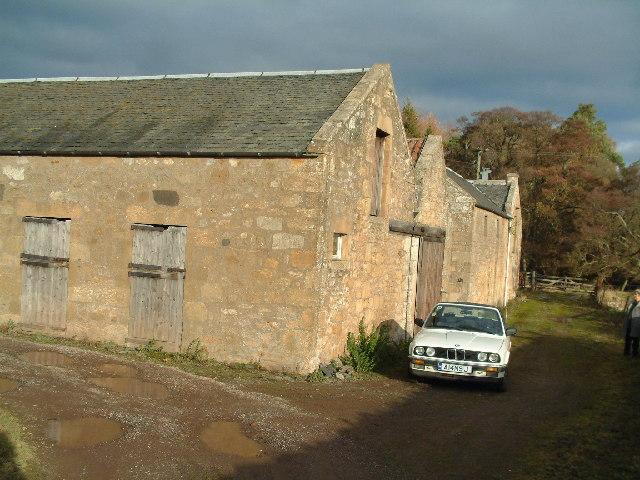 Peterhead Farm, prior to conversion into small whisky distillery