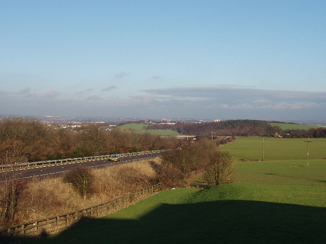 M1 from Woolley Edge Services (south bound)