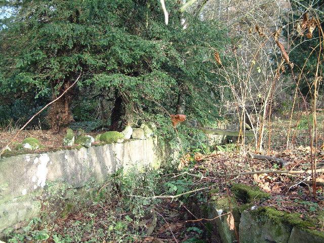 Mill Lade on Rankeillour Burn near Peterhead Farm