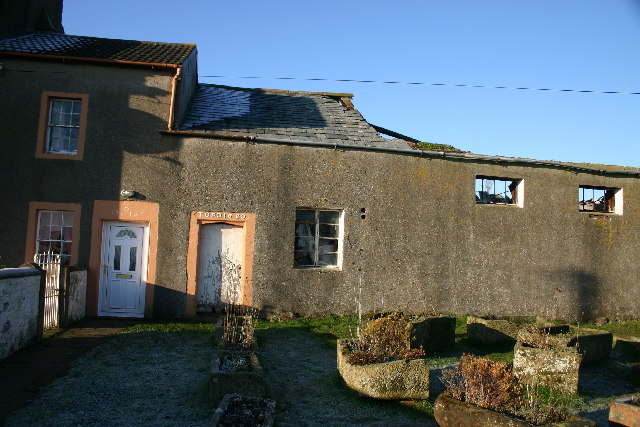 Farmhouse ruins, Newtown, Mawbray