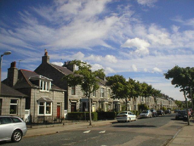 Granite Houses in Mannofield