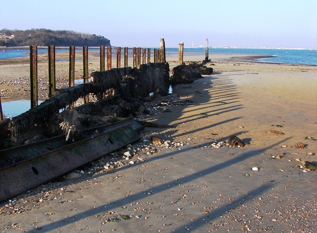 Breakwater at Bembridge Point