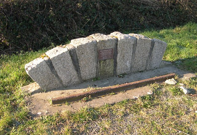 Memorial to a Lost Railway Line