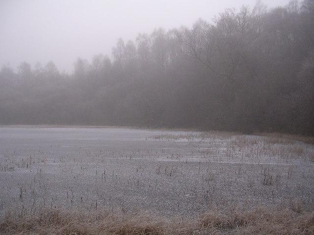 Misty Frozen Dumbrock Loch