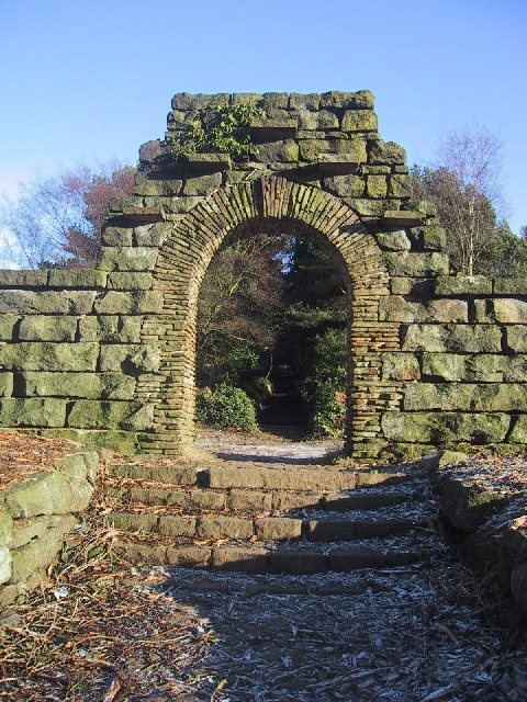 Photo in the Terraced Gardens, Rivington