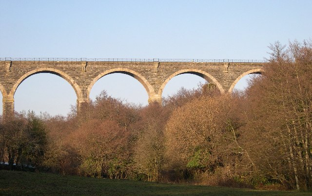 Moorswater Viaduct from the South