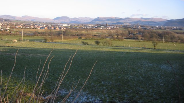Cleator Moor with Backdrop.