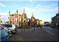 SP9225 : Leighton Buzzard: Market Square by Nigel Cox